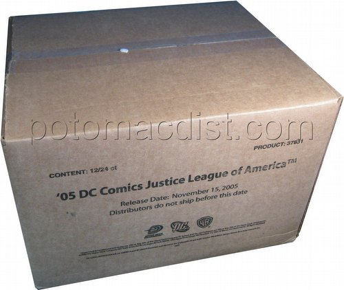 DC VS: Justice League of America Booster Box Case [12 boxes]