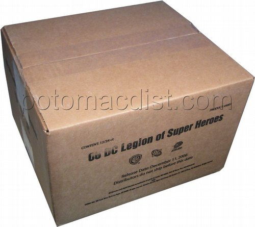 DC VS: Legion of Super Heroes Booster Box Case [12 boxes]