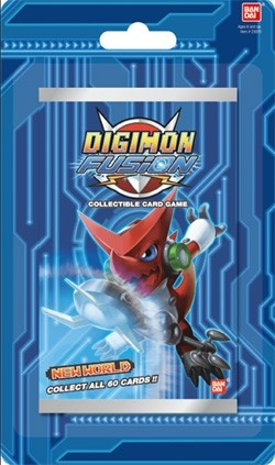 Digimon Fusion CCG: New World Blister Booster Box Case [10 boxes]