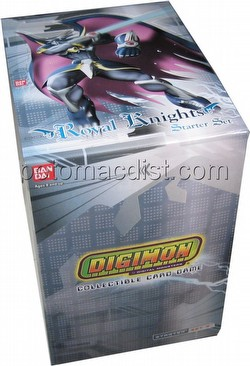 Digimon Collectible Card Game [CCG]: Royal Knights Starter Deck Box