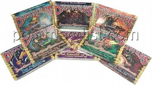 Diskwars: Broken Shadows [1 of each Clan]
