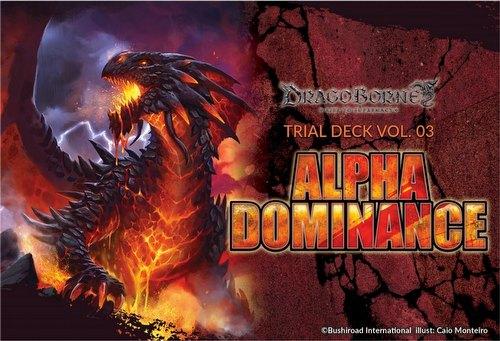 Dragoborne: Alpha Dominance Trial Deck Box [DB-TD03]
