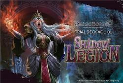 Dragoborne: Shadow Legion Trial Deck Box [DB-TD01]