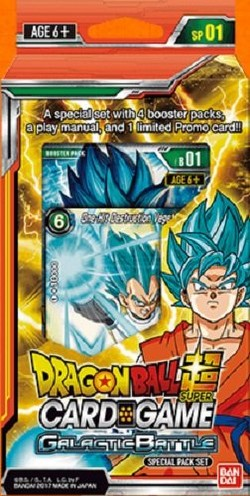 Dragon Ball Super Trading Card Game Galactic Battle Special Pack