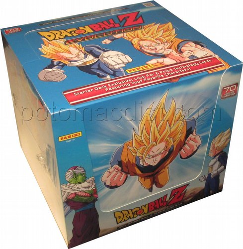 Dragon Ball Z Trading Card Game Evolution Starter Deck Box [Panini]