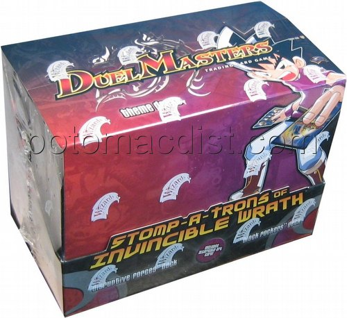 Duel Masters Trading Card Game [TCG]: Stomp-A-Trons of Invincible Wrath Theme Deck Box