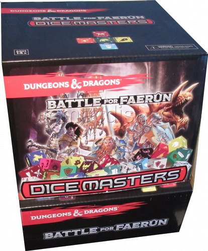 Dungeons & Dragons Dice Masters: Battle for Faerun Dice Building Game Gravity Feed Box