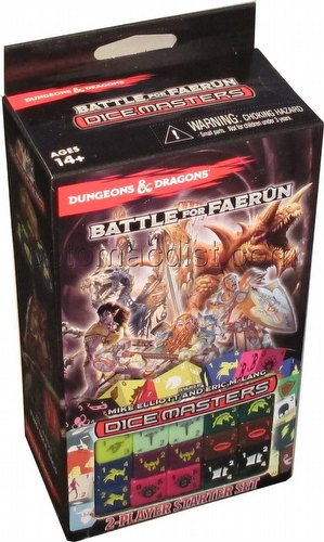 Dungeons & Dragons Dice Masters: Battle for Faerun Dice Building Game Starter Set Box