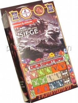 Dungeons & Dragons Dice Masters: Faerun Under Siege Dice Building Game Starter Set Box