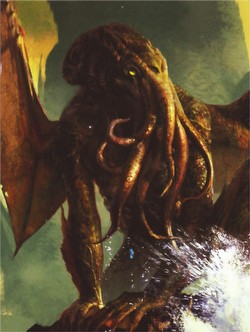 Fantasy Flight Standard Size Art Deck Protectors - Spawn of Cthulhu