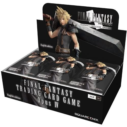 Final Fantasy: Opus IV (Opus 4) Collection Booster Case [12 boxes]