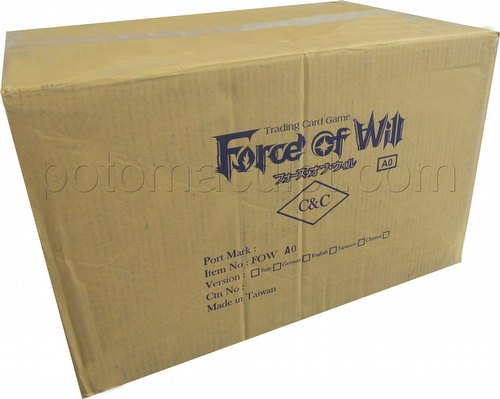 Force of Will TCG: Alice Cluster Prologue Faria/Melgis Dual Deck Set Case [30 sets]