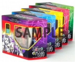 Force of Will TCG: Lapis Cluster Starter Deck Box