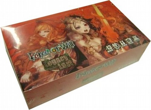 Force of Will TCG: Lapis Cluster: Legacy Lost Booster Case [6 boxes]