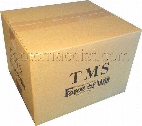 Force of Will TCG: The Moonlit Savior Booster Case [A3/6 boxes]