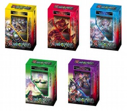 Force of Will TCG: New Legend Precipice Starter Deck Box [5 decks/1 of each]