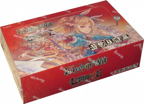 Force of Will TCG: The Seven Kings of the Lands Booster Box [A1]