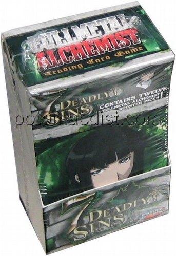 Full Metal Alchemist CCG: Seven [7] Deadly Sins Booster Box