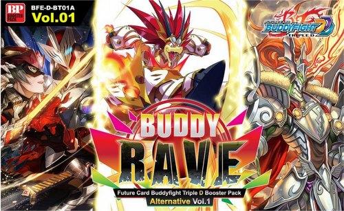 Future Card Buddyfight: Buddy Rave Alernative Volume 1 Booster Case [BFE-D-BT01A/16 boxes]