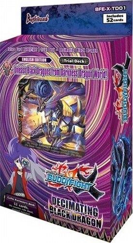 Future Card Buddyfight: Decimating Black Dragon Trial Deck (Starter Deck)