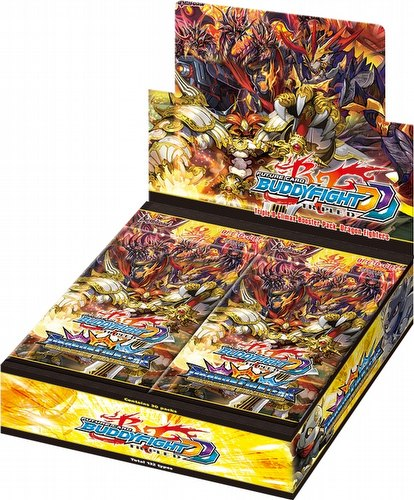 Future Card Buddyfight: Triple D Dragon Fighters Booster Box [BFE-D-CBT]