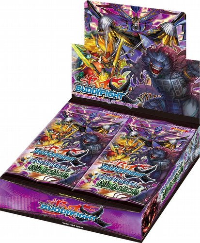 Future Card Buddyfight: Evolution and Mutation Booster Box [BFE-X-BT02A]