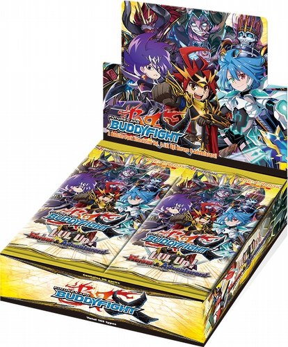 Future Card Buddyfight: LVL Up! Heroes & Adventurers Booster Box