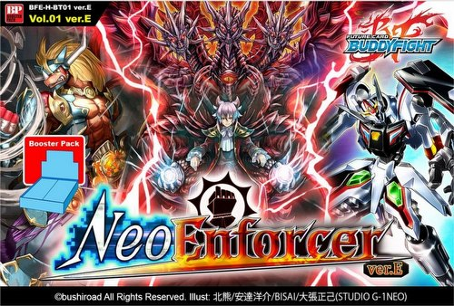 Future Card Buddyfight: Neo Enforcer ver. E Booster Case [BFE-H-BT01 ver. E/16 boxes]