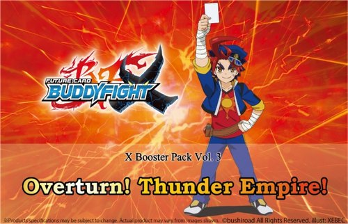 Future Card Buddyfight: Overturn! Thunder Empire! Booster Box