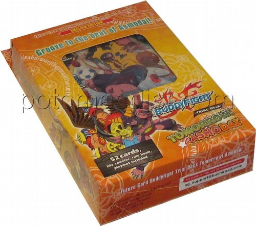 Future Card Buddyfight: Tomorrow! Asmodai Trial Deck (Starter Deck)