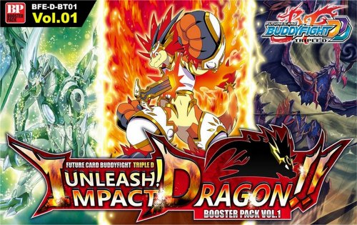 Future Card Buddyfight: Triple D Unleash! Impact Dragon Booster Case [BFE-D-BT01/16 boxes]