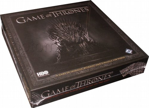 A Game of Thrones: HBO Edition Card Game Box