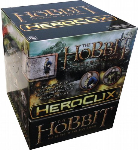 HeroClix: The Hobbit - The Battle of the Five Armies Gravity Feed Box