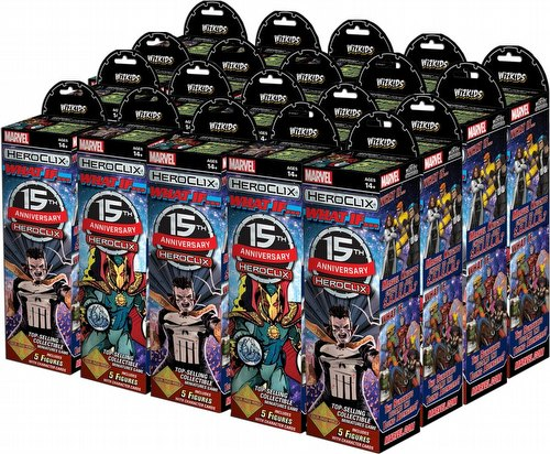 HeroClix: Marvel 15th Anniversary What If? Booster Case [20 boosters]