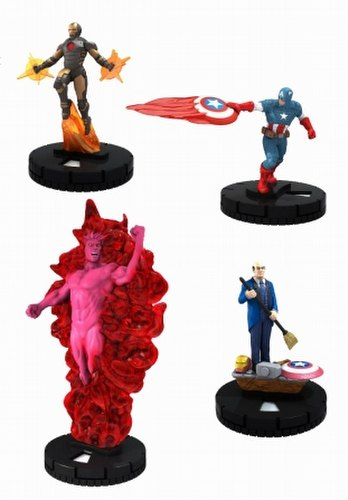 HeroClix: Marvel Avengers Assemble Booster Case [20 boosters]