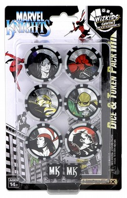 HeroClix: Marvel Avengers/Defenders War Marvel Knights Dice & Token Pack