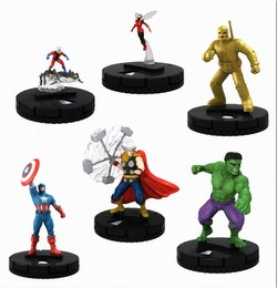 HeroClix: Marvel Classic Avengers Fast Forces Pack