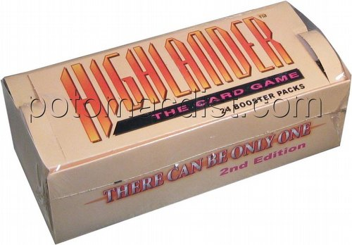 Highlander: 2nd (Second) Edition Beta Booster Box