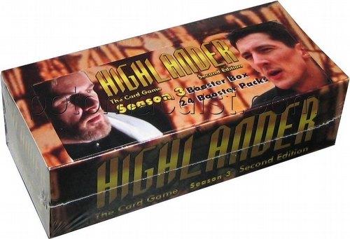 Highlander: 2nd (Second) Edition Season 3 (Three) Booster Box