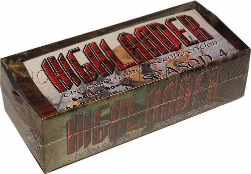 Highlander: 2nd (Second) Edition Season 4 (Four) Booster Box