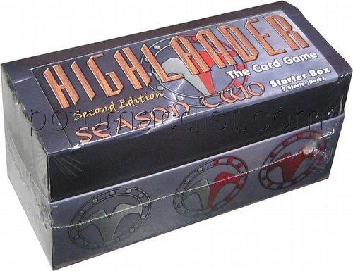 Highlander: 2nd (Second) Edition Second (2nd) Season Starter Deck Box