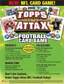 10 2010 Topps Attax Football Card Game Booster Box Case [12 boxes]