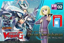 Cardfight Vanguard: Divine Swordsman of the Shiny Star Trial Deck [G-TD02]