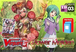 Cardfight Vanguard: Flower Maiden of Purity Trial Deck Starter Box