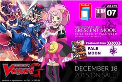 Cardfight Vanguard: Illusionist of the Crescent Moon Trial Deck Starter Box [VGE-G-TD07]