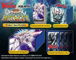 Cardfight Vanguard: Rise to Royalty Mega Trial Deck Starter Box [VGE-MT01]