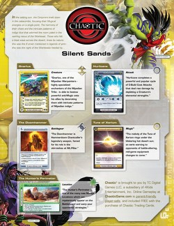 Chaotic CCG: Silent Sands Booster Box [1st Edition]