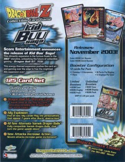 Dragonball Z Collectible Card Game [CCG]: Kid Buu Saga Booster Box [Unlimited]