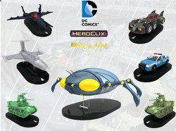 HeroClix: DC Batman Booster Case [16 regular boosters/2 super boosters]
