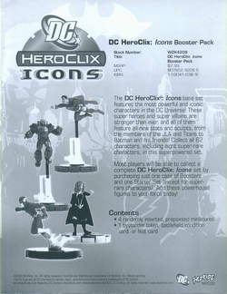 HeroClix: DC Icons Booster Case [48 boosters]